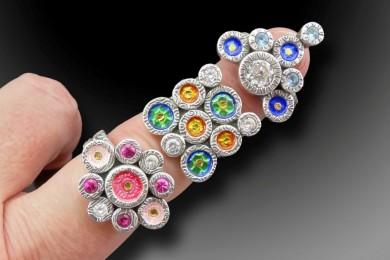 Juxtaposing Rings on finger_Joy Funnell_