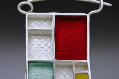 MC-and-plastic-brooch